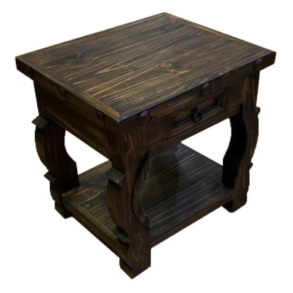 oxbow-end-table