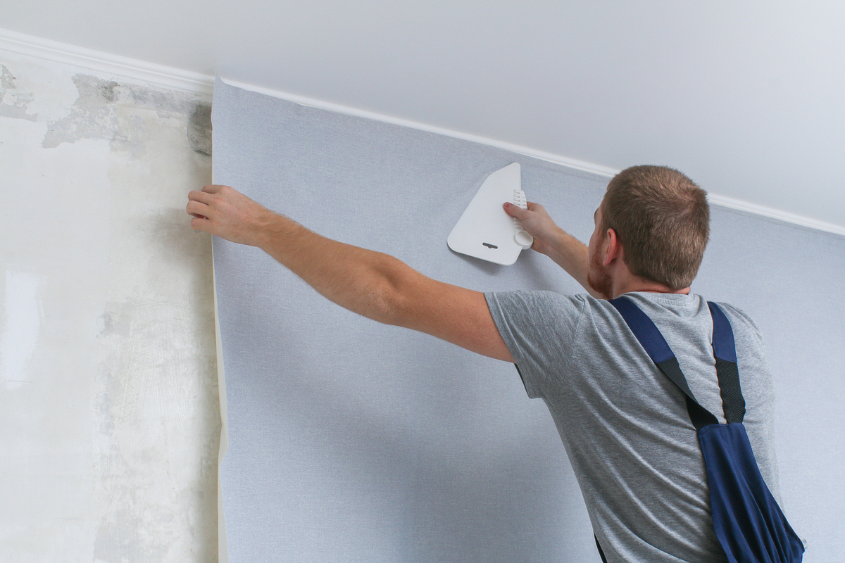 Pro Tips For Hanging Wallpaper